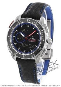 オメガ スピードマスター スカイウォーカー 第35回アメリカズカップ 限定エディション 世界限定2017本 クロノグラフ 腕時計 メンズ OMEGA 318.92.45.79.01.001