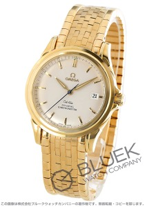 オメガ デビル コーアクシャル クロノメーター YG金無垢 腕時計 メンズ OMEGA 4131.31