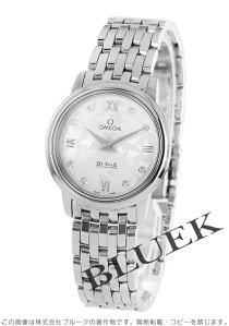 オメガ デビル プレステージ バタフライ ダイヤ 腕時計 レディース OMEGA 424.10.27.60.52.001