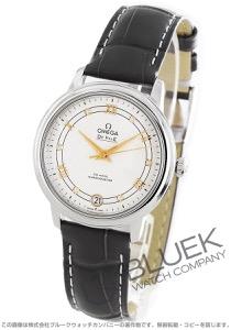 オメガ デビル プレステージ ダイヤ アリゲーターレザー 腕時計 レディース OMEGA 424.13.33.20.52.001