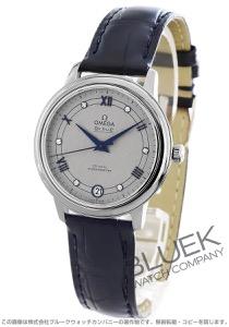 オメガ デビル プレステージ ダイヤ アリゲーターレザー 腕時計 レディース OMEGA 424.13.33.20.56.002
