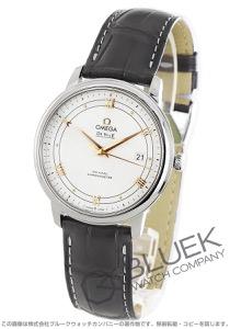 オメガ デビル プレステージ アリゲーターレザー 腕時計 メンズ OMEGA 424.13.40.20.02.005