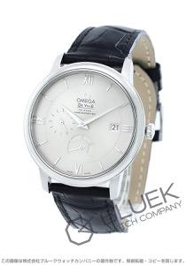 オメガ デビル プレステージ パワーリザーブ アリゲーターレザー 腕時計 メンズ OMEGA 424.13.40.21.02.001