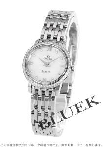 オメガ デビル プレステージ ダイヤ 腕時計 レディース OMEGA 424.15.24.60.55.001