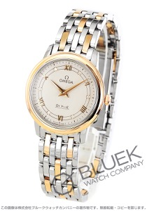 オメガ デビル プレステージ ダイヤ 腕時計 レディース OMEGA 424.20.27.60.52.003