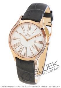 オメガ デビル トレゾア ダイヤ アリゲーターレザー 腕時計 レディース OMEGA 428.58.36.60.02.001