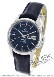 オメガ デビル アワービジョン アニュアルカレンダー アリゲーターレザー 腕時計 メンズ OMEGA 431.33.41.22.03.001