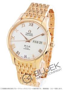 オメガ デビル アニュアルカレンダー RG金無垢 腕時計 メンズ OMEGA 431.50.41.22.02.001