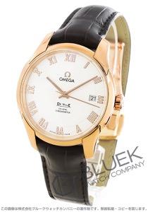 オメガ デビル ダイヤ RG金無垢 アリゲーターレザー 腕時計 メンズ OMEGA 431.53.41.21.52.001