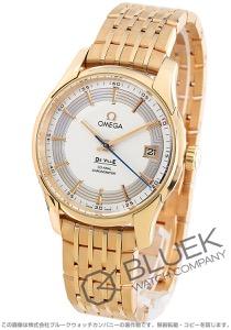 オメガ デビル アワービジョン RG金無垢 腕時計 メンズ OMEGA 431.60.41.21.02.001