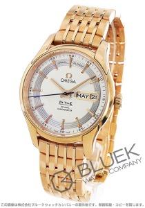 オメガ デビル アワービジョン アニュアルカレンダー RG金無垢 腕時計 メンズ OMEGA 431.60.41.22.02.001