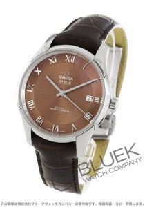 オメガ デビル アワービジョン アリゲーターレザー マスタークロノメーター 腕時計 メンズ OMEGA 433.13.41.21.10.001