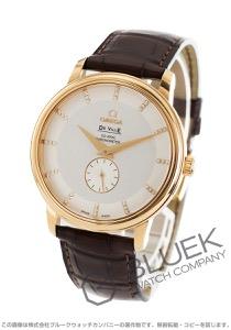 オメガ デビル プレステージ ダイヤ YG金無垢 アリゲーターレザー 腕時計 メンズ OMEGA 4613.35.02