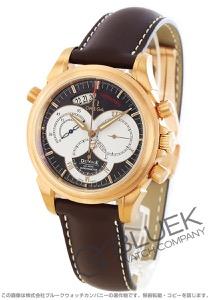 オメガ デビル ラトラパンテ クロノグラフ RG金無垢 腕時計 メンズ OMEGA 4648.60.37