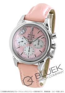 オメガ デビル コーアクシャル クロノグラフ アリゲーターレザー 腕時計 レディース OMEGA 4878.74.34