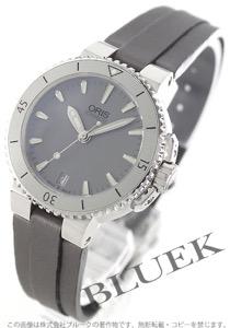 オリス アクイス 300m防水 サテンレザー 腕時計 レディース ORIS 733 7652 4143D