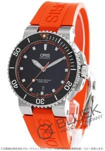 オリス アクイス デイト 300m防水 腕時計 メンズ ORIS 733 7653 4128RO