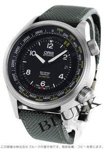 オリス ビッグクラウン サテンレザー 腕時計 メンズ ORIS 733 7705 4164DGY