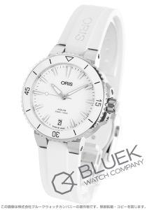 オリス アクイス デイト 300m防水 腕時計 レディース ORIS 733 7731 4151R