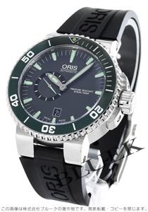 オリス アクイス スモールセコンド デイト 500m防水 腕時計 メンズ ORIS 743 7673 4137R
