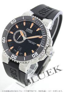 オリス アクイス スモールセコンド デイト 500m防水 腕時計 メンズ ORIS 743 7673 4159R