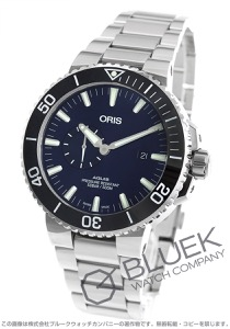 オリス アクイス スモールセコンド デイト 500m防水 腕時計 メンズ ORIS 743 7733 4135M