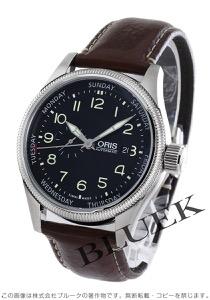 オリス ビッグクラウン スモールセコンド ポインターデイ 腕時計 メンズ ORIS 745 7688 4034D