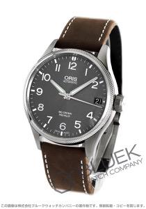 オリス ビッグクラウン プロパイロット 腕時計 メンズ ORIS 751 7697 4063DLBR