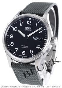 オリス ビッグクラウン プロパイロット 腕時計 メンズ ORIS 752 7698 4164DGY