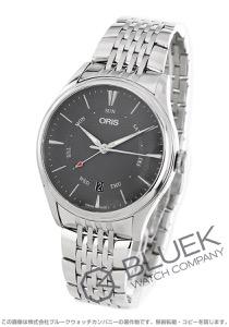 オリス アートリエ ポインターデイデイト 腕時計 メンズ ORIS 755 7742 4053M