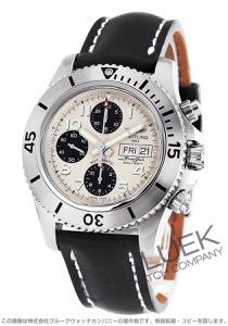 ブライトリング スーパーオーシャン クロノグラフ スチールフィッシュ 500m防水 腕時計 メンズ BREITLING A141G82KBA