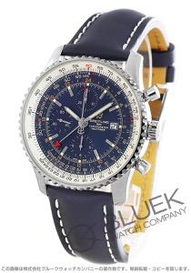 ブライトリング ナビタイマー ワールド クロノグラフ GMT 腕時計 メンズ BREITLING A242 C-1 KBA