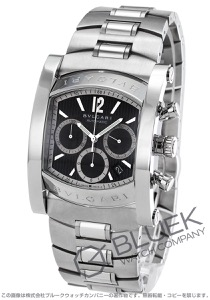 ブルガリ アショーマ クロノグラフ 腕時計 メンズ BVLGARI AA48BSSDCH