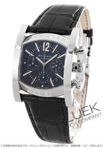 ブルガリ アショーマ クロノグラフ アリゲーターレザー 腕時計 メンズ BVLGARI AA48C14SLDCH