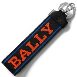 バリー キーリング/キーホルダー/ストラップ アクセサリー メンズ レディース フロリアン ブラック&チャイナブルー&ネオンオレンジ FLORYAN WB 154 6228928 BALLY