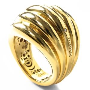 ダミアーニ リング(指輪) アクセサリー レディース スピッキ ディ ルナ イエローゴールド 20076810 DAMIANI