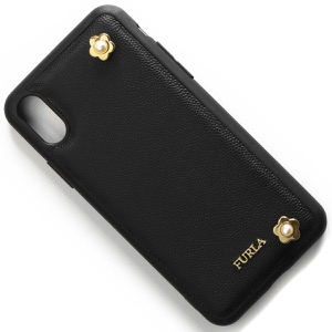 フルラ スマートフォンケース レディース マイ グラム フラワー IPhoneX専用 ブラック K804 O32 O60 1014817 2019年春夏新作 FURLA