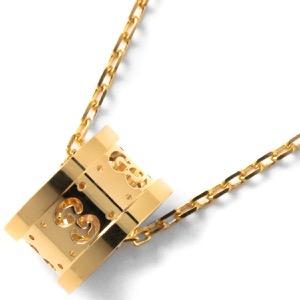 グッチ ネックレス アクセサリー レディース GGアイコン イエローゴールド 214169 J8500 8000 GUCCI