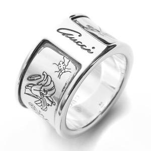 グッチ リング【指輪】 アクセサリー レディース フローラ シルバー 325910 J8400 0701 GUCCI
