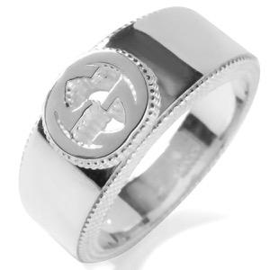 グッチ リング【指輪】 アクセサリー メンズ レディース インターロッキングG シルバー 479228 J8400 8106 GUCCI