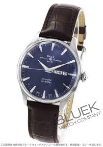 ボールウォッチ トレインマスター エタニティ クロコレザー 腕時計 メンズ BALL WATCH NM2080D-LJ-BE