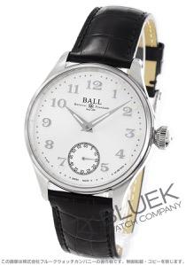 ボールウォッチ トレインマスター クリーブランド ナイト エクスプレス クロコレザー 腕時計 メンズ BALL WATCH NM3038D-LL2J-WH