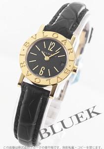 ブルガリ ブルガリブルガリ YG金無垢 アリゲーターレザー 腕時計 レディース BVLGARI BB23BGLD