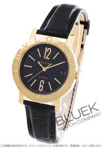 ブルガリ ブルガリブルガリ YG金無垢 アリゲーターレザー 腕時計 メンズ BVLGARI BB38BGLD AUTO