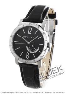 ブルガリ ソティリオ ブルガリ パワーリザーブ アリゲーターレザー 腕時計 メンズ BVLGARI BB41BSL