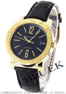 ブルガリ ブルガリブルガリ YG金無垢 アリゲーターレザー 腕時計 メンズ BVLGARI BB42BGLD AUTO