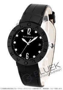 ブルガリ ブルガリブルガリ ダイヤ アリゲーターレザー 腕時計 レディース BVLGARI BBL37BSBCLD/9