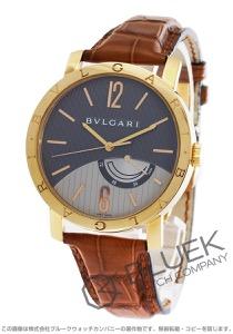 ブルガリ ブルガリブルガリ パワーリザーブ PG金無垢 アリゲーターレザー 腕時計 メンズ BVLGARI BBP41BGL