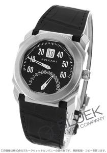 ブルガリ オクト レトログラード アリゲーターレザー 腕時計 メンズ BVLGARI BGO38BSLDBR