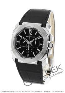 ブルガリ オクト ヴェロチッシモ クロノグラフ アリゲーターレザー 腕時計 メンズ BVLGARI BGO41BSLDCH